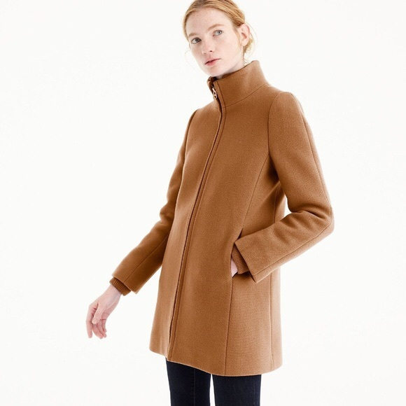 J. Crew Jackets & Blazers - J Crew Lodge Coat in Camel, size 6